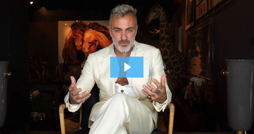 Gianluca Vacchi insegna come diventare influencer